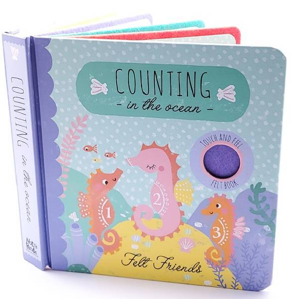 Counting in the Ocean Felt Friends
