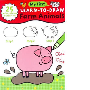 My First Learn To Draw Farm Animals
