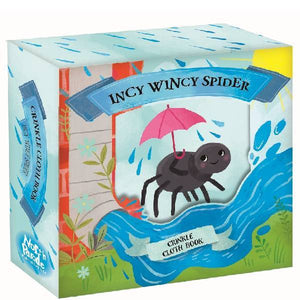 Incy Wincy Spider Crinkle Cloth  Book Gift Box