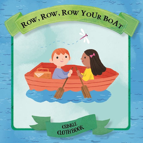 Row Row Your Boat Crinkle Cloth Book Gift Box