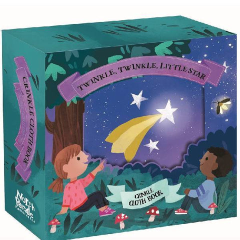 Twinkle Little Star Crinkle Cloth Book Gift Box