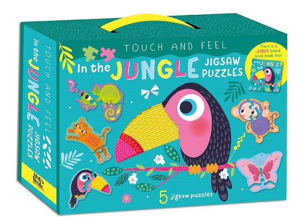 Touch & Feel  Jungle Jigsaw Puzzle Box