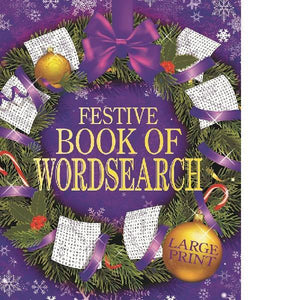 Festive Book Of Wordsearch