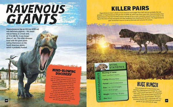 The Dangerous Books Of Dinosaurs