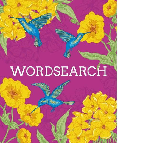 Wordsearch Flexi Floral Puzzle Book