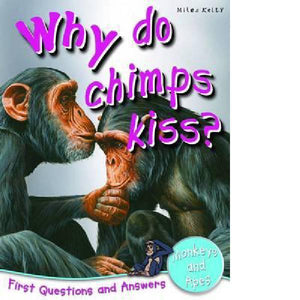 First Q&A Why Do Chimps Kiss