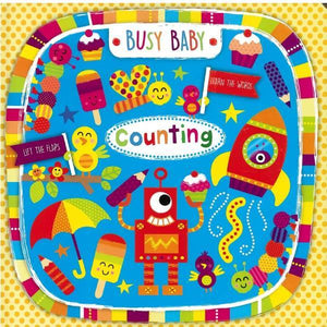 Busy Baby Counting Lift The Flap Board