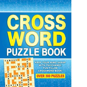Spiral Bound Crossword Puzzle Book
