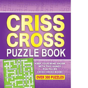 Spiral Bound Criss Cross Puzzle Book
