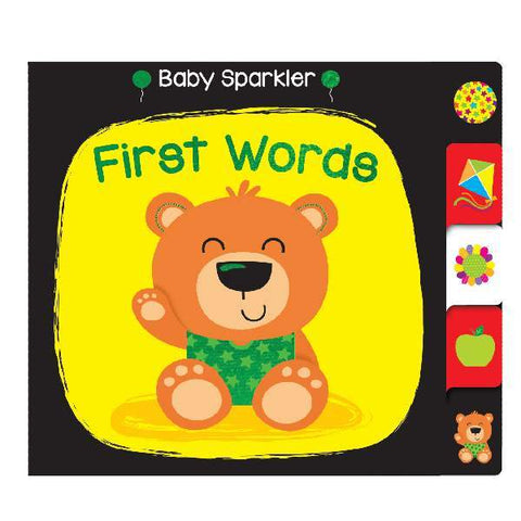 Baby Sparklers First Words Board Book