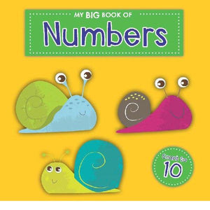 My Big Numbers Board Book