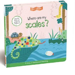 Where Are My Scales Fold Out Fun Board Book