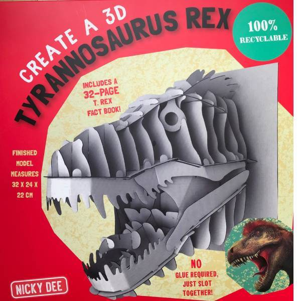 T Rex Model and Book