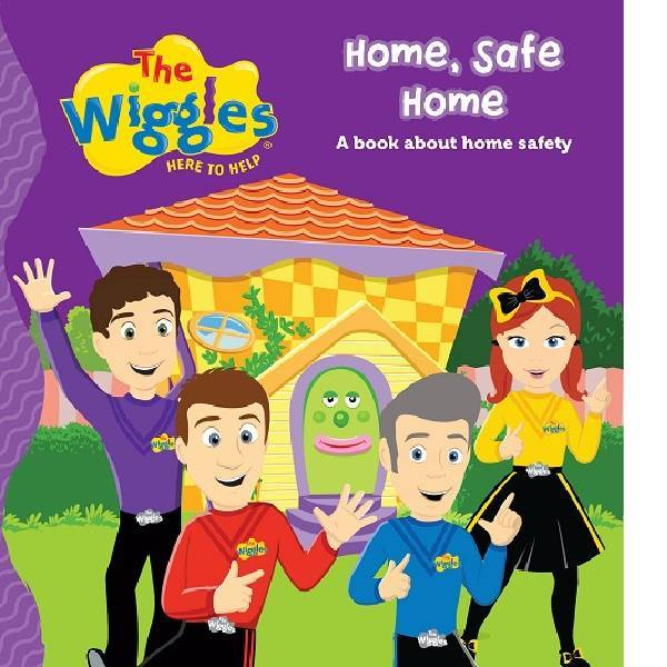 The Wiggles Home  Safe Home Board Book