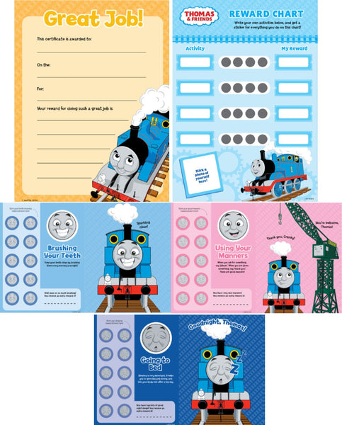 Thomas & Friends Reward Chart Sticker Book