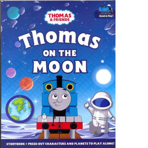 Thomas On The Moon Press Out