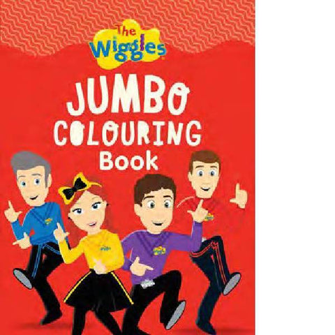 Wiggles Jumbo Colouring