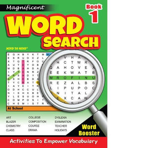 Magnificant Word Search Bk 1