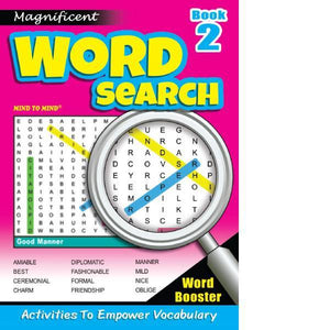 Magnificant Word Search Bk 2