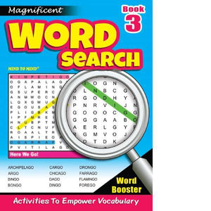 Magnificant Word Search Bk 3