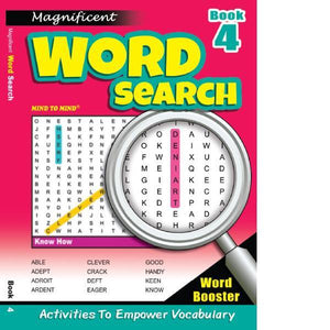 Magnificant Word Search Bk 4
