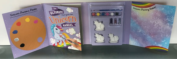 The Ultimate Paint Your Own Unicorn Book and Kit