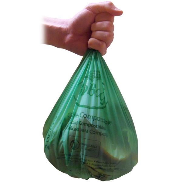 3 Gallon Countertop compostable liner Biobags (100 bags)