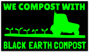 "The ""Compost Force""Sticker 3x5"