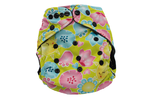 POCKET WASHABLE DIAPER - MY SUNSHINE - 9 TO 34 LBS
