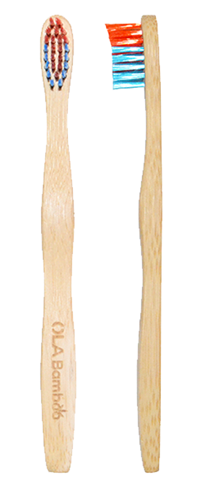 CHILDREN'S SOFT BAMBOO TOOTHBRUSH