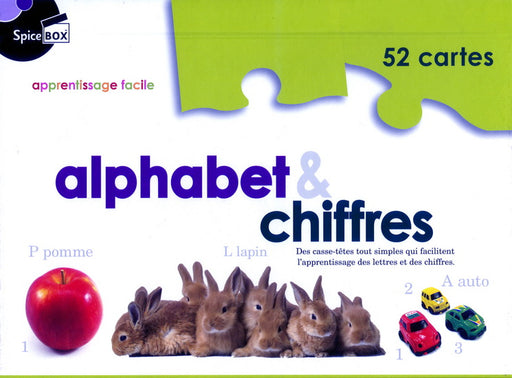 APPRENTISSAGE FACILE - ALPHABET ET CHIFFRE - By SpiceBOX