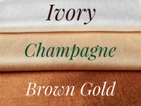 Bridesmaid Wrap Shawl Pashmina Ivory Champagne Gold