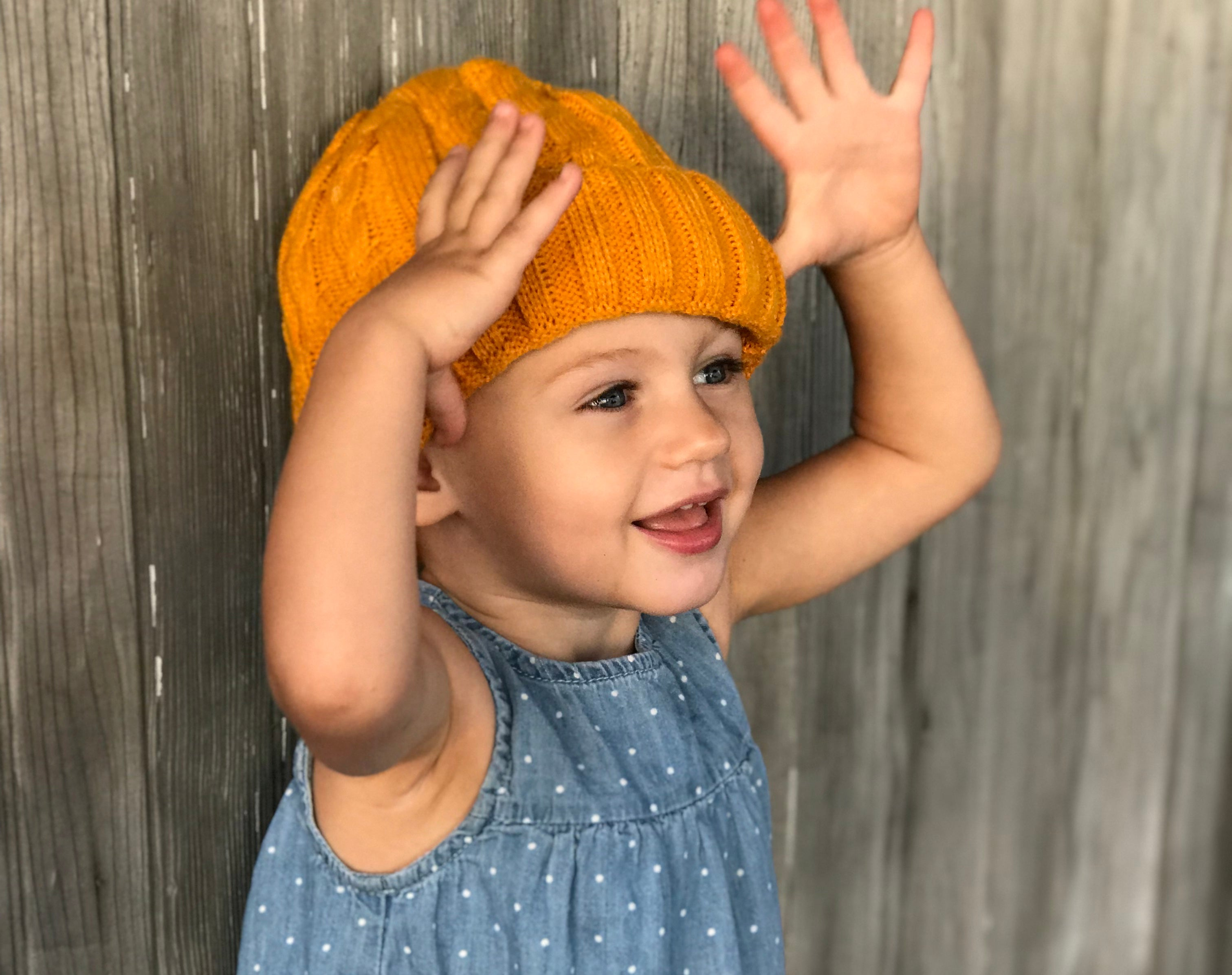 Yellow Cub Hat