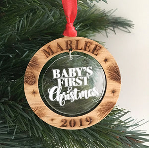 Personalised 1st Christmas