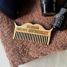 Load image into Gallery viewer, Personalised Beard Comb