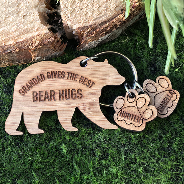 Bear Hugs Key Ring