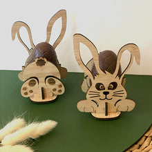 Load image into Gallery viewer, Bunny Puzzle Egg Holder