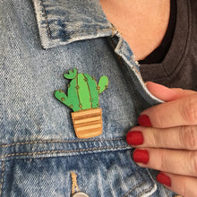 Load image into Gallery viewer, San Pedro Cacti Badge