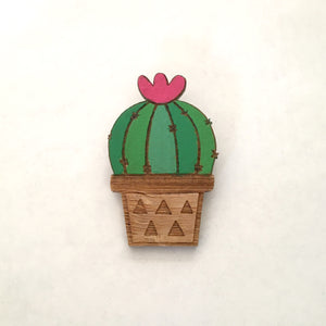 Pincushion Cacti Badge