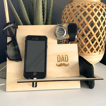 Load image into Gallery viewer, Bedside Docking Station Organiser