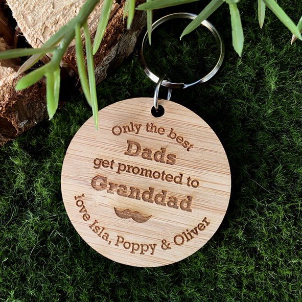 Best Grandad Key Ring