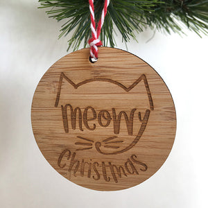 Meowy Christmas Decoration