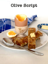 Load image into Gallery viewer, Wooden Personalised Egg Cups