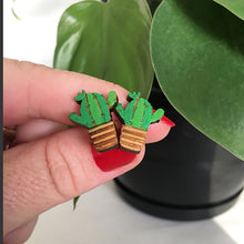 Load image into Gallery viewer, San Pedro Cactus Earrings