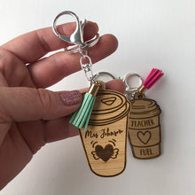 Load image into Gallery viewer, Personalised Teacher Fuel Keyring