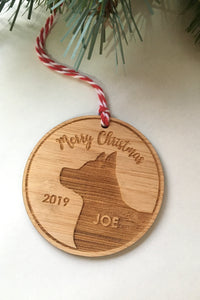 Personalised Cat or Dog Decoration