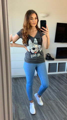 Minnie Mouse 'Oh boy' Tee