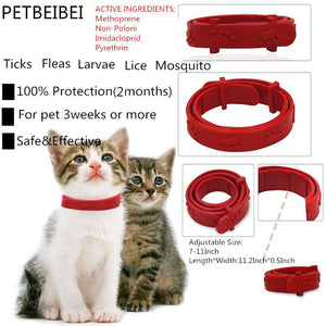 Kill Flea & Tick Collar For Large Dog Cat Pet Supplies Product Adjustable For Large Small Dogs Cats Pets Flea Collars