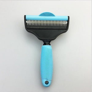 Comb Brush For Dogs  Deshedding Cat Grooming Pet Supplies Tools Hair Clipper Comb For Cats Animals For Hair remover GG1601-S-M-L