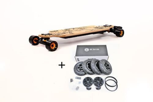 Evolve Gt Bamboo 2In1 - Eboard - 2In1 Akku Upgrade All-Terrain Bamboo Eboard / Eboardevolution.de